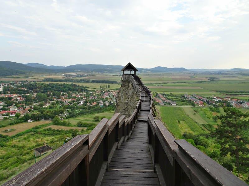 Castle of Boldogkovaralja, Hungary royalty free stock photos
