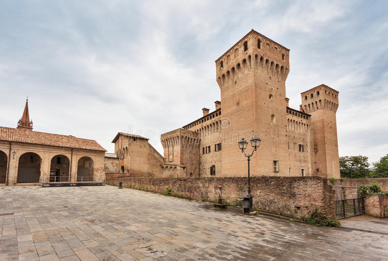 Castle Vignola στοκ εικόνα με δικαίωμα ελεύθερης χρήσης