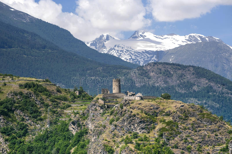 Download Castle Of Villeneuve Stock Photography - Image: 24561322