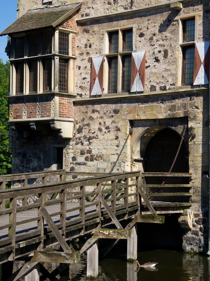 Castle Vischering. The Castle of Vischering in Luedinghausen stock photography