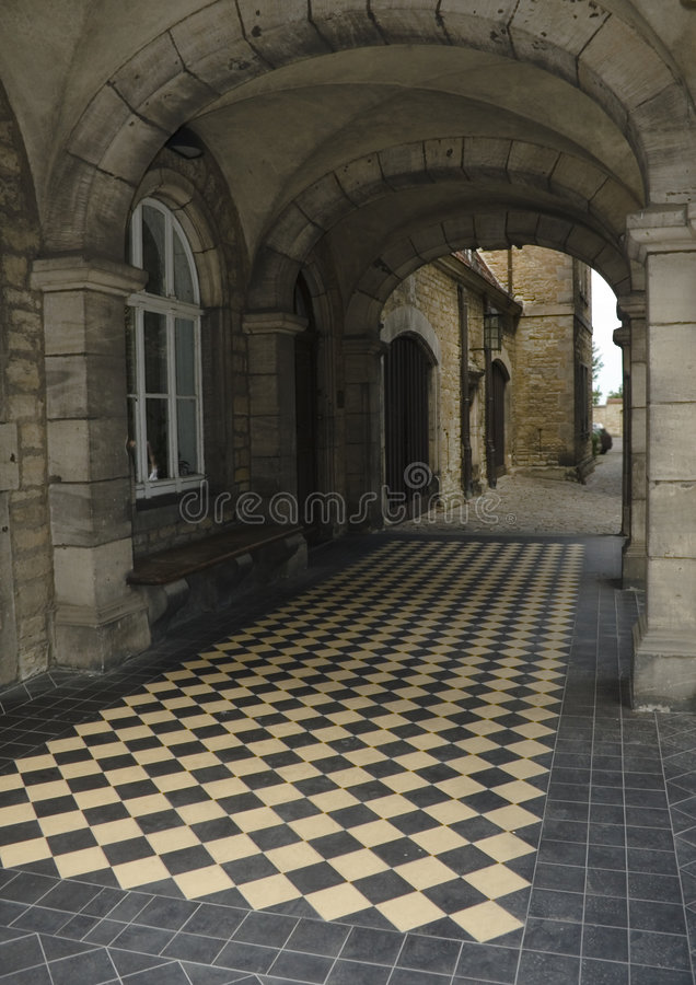 Free Castle Walkway Stock Photo - 5966360