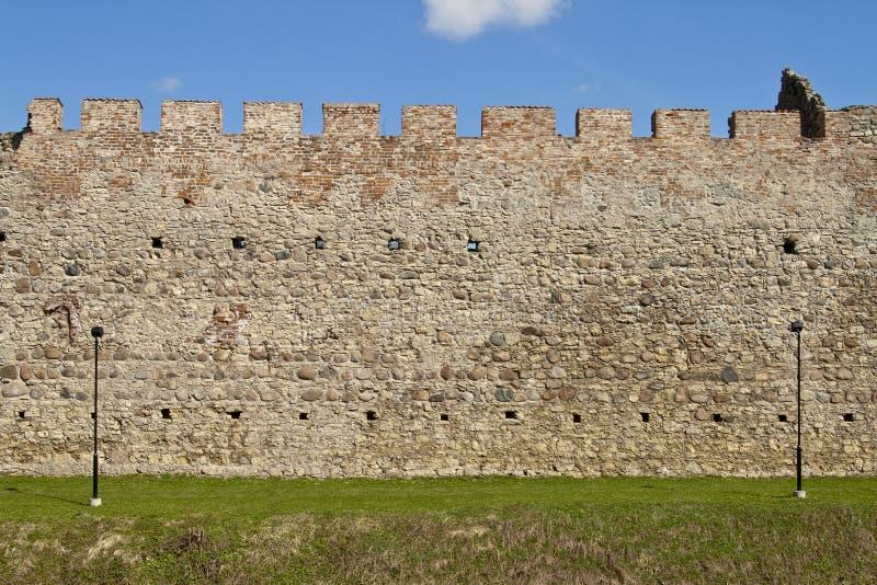 Castle Wall. In Põltsamaa, Estonia royalty free stock photography