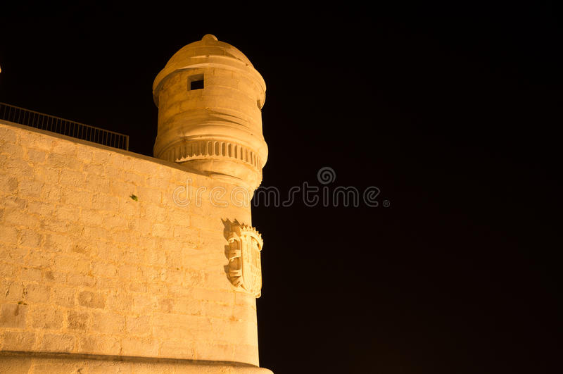 Download Castle wall stock image. Image of copy, stronghold, tower - 31357301