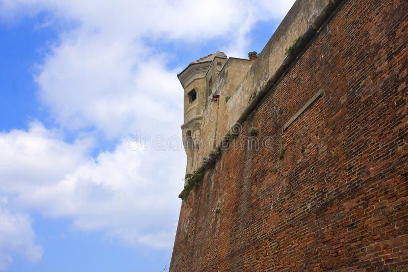 Download Castle walls stock image. Image of battle, white, brick - 10885521
