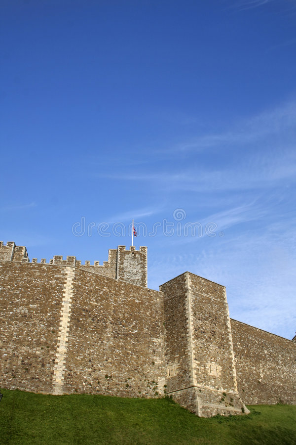 Download Castle walls and sky stock image. Image of fortress, england - 3881565