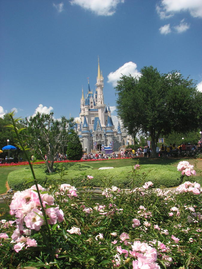 Download Castle in Walt Disney editorial stock photo. Image of blue - 9424368
