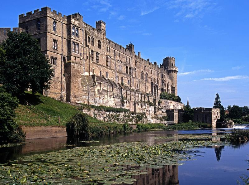 Download Castle, Warwick, England. stock photo. Image of moat - 26973132