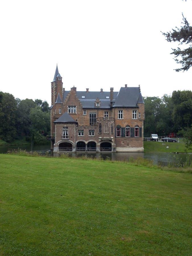 Castle Wissekerke royalty free stock images