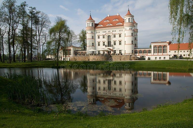 Castle Wojanow, Poland royalty free stock photo