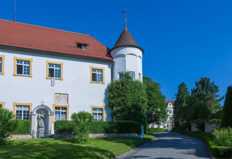 Castle wolfegg. Near Ravensburg, Germany, Baden Wuerttemberg royalty free stock photos