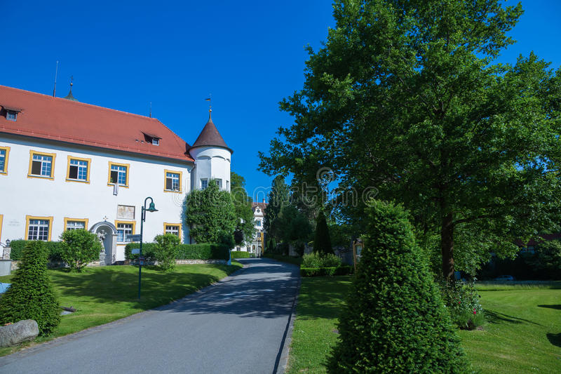 Castle wolfegg. Near Ravensburg, Germany, Baden Wuerttemberg stock photo