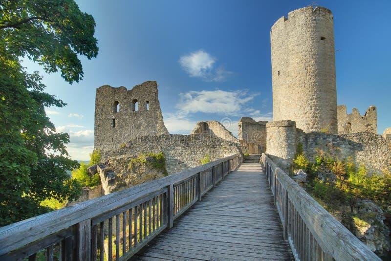 Castle Wolfstein near Neumarkt in der Oberpfalz, Germany royalty free stock photos