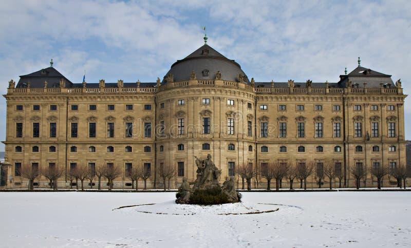 Castle Wuerzburg, World Heritage Site Stock Photography