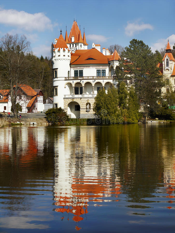 Castle Zinkovy, Hotel Apartments stock images