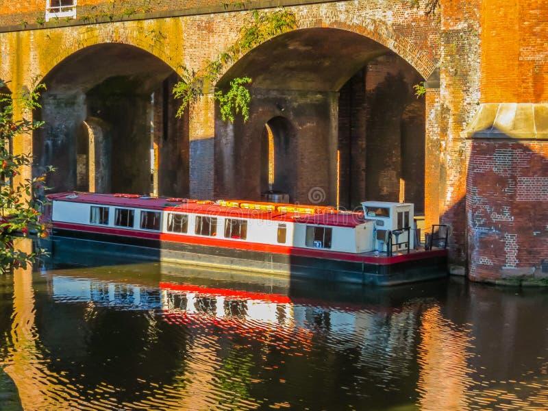 Castlefield,曼彻斯特,英国,英国 免版税图库摄影