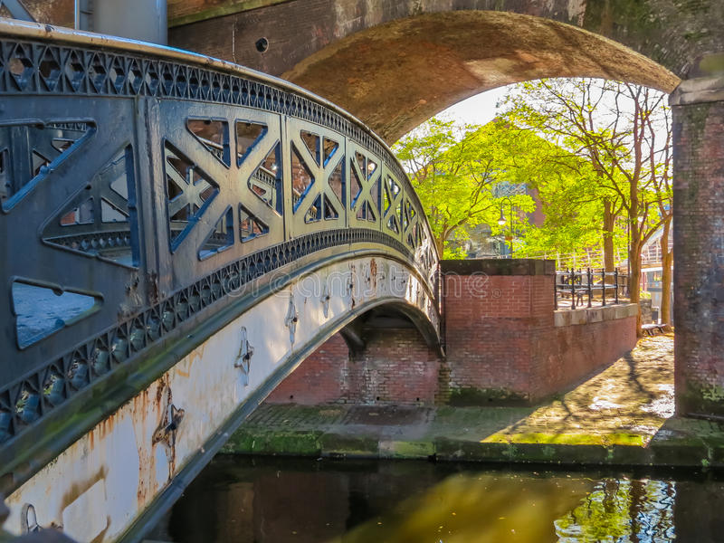 Castlefield, Manchester, Angleterre, Royaume-Uni photographie stock