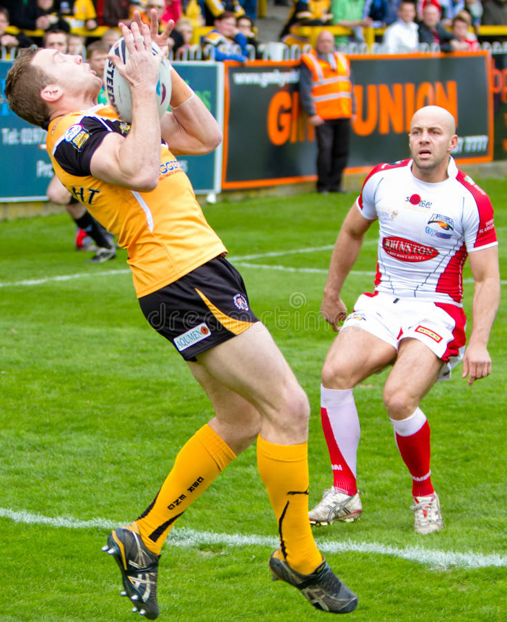 Castleford Tigers v Barrow Raiders stock image