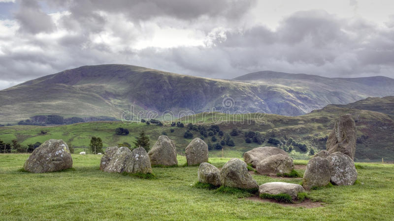 Castlerigg fotos de stock