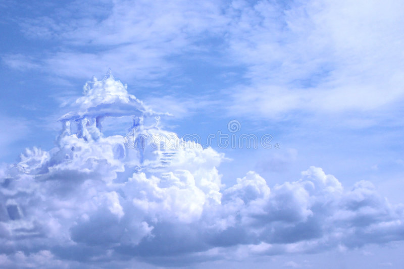 Castles in the air royalty free stock images
