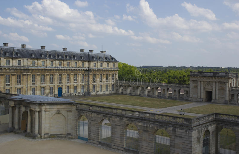 Chateau de Vincennes in France. royalty free stock photos
