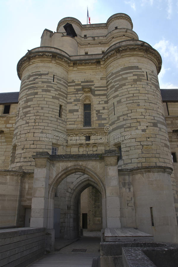 Chateau de Vincennes in France. royalty free stock images