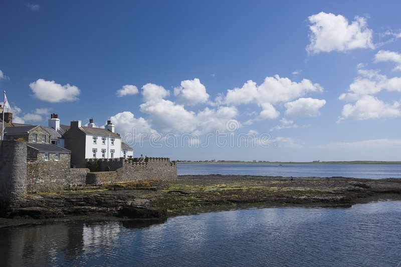 Castletown stockbild