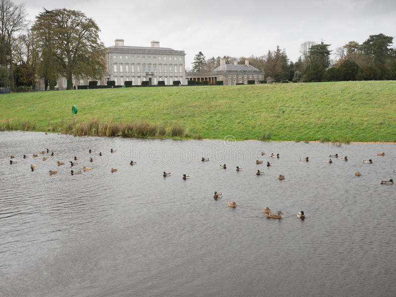 Castletown Estate, Celbridge, Kildare,Ireland. Stately home and estate, Kildare, Ireland stock image