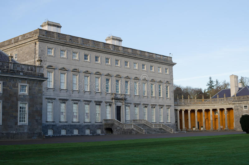 Castletown house. In celbridge, co kildare, Ireland royalty free stock image