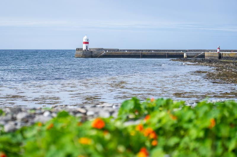 Castletown, Isle of Man.The town lies on the northwest side of Castletown Bay.  royalty free stock photos