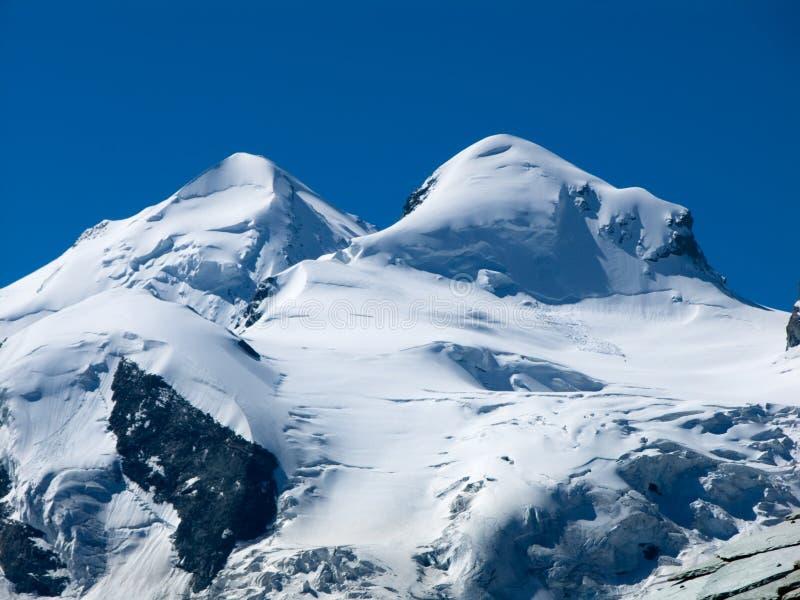 Castor - Pollux in Switzerland stock photo