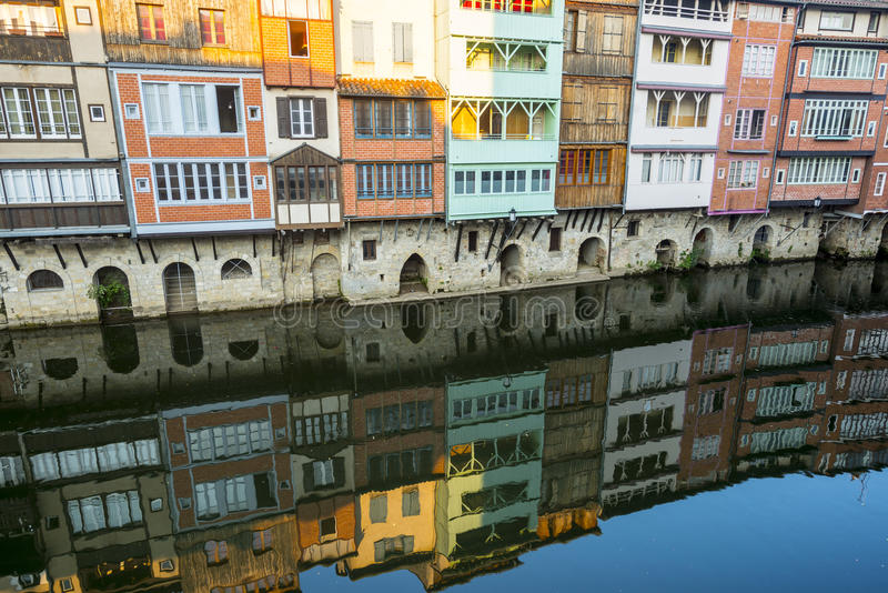 Download Castres (France) stock photo. Image of windows, water - 35429870