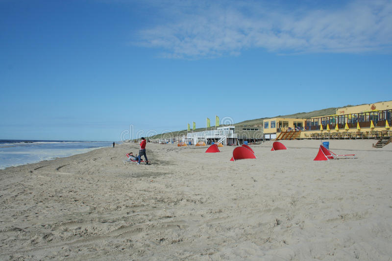 Castricum aan Zee royalty free stock photo