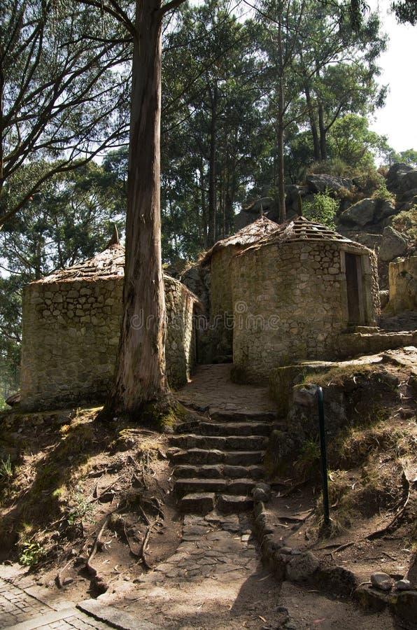Castro de Sao Lourenco, Esposende, Portogallo fotografie stock libere da diritti