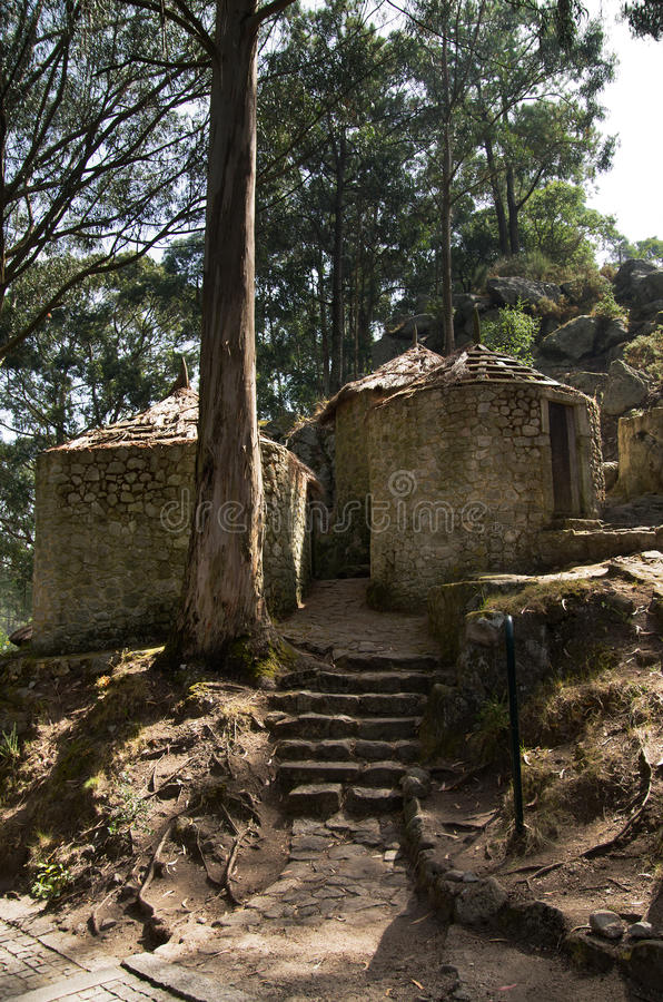 Castro De Sao Lourenco, Esposende, Portugalia zdjęcia royalty free
