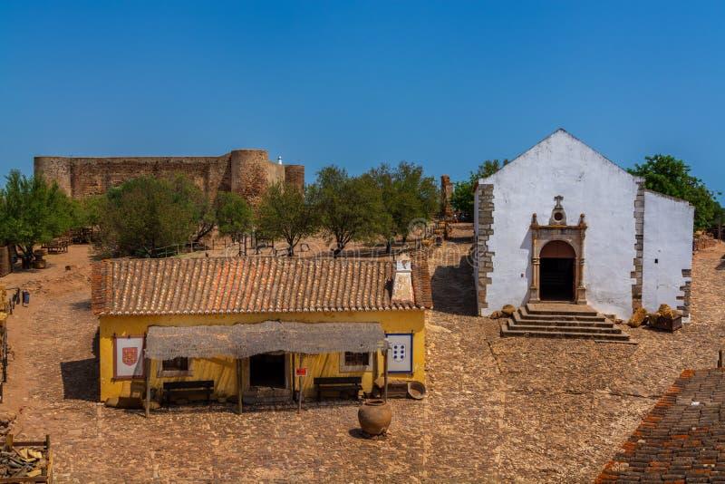 Castro Marim Village en Algarve fotografía de archivo