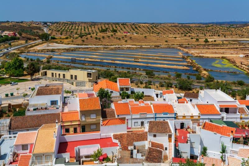 Castro Marim Village en Portugal imagen de archivo libre de regalías