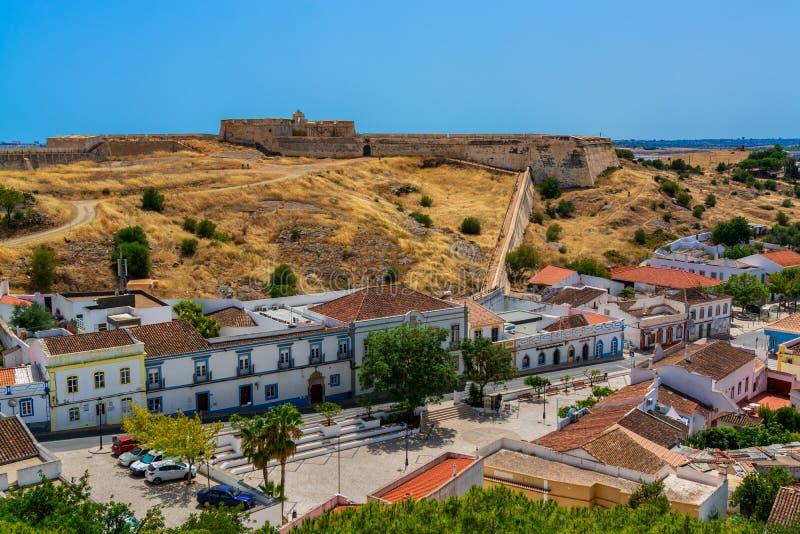 Castro Marim Village en Portugal fotos de archivo