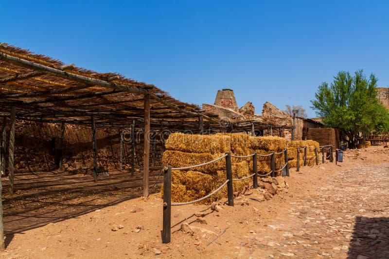 Castro Marim Village en Portugal fotografía de archivo libre de regalías