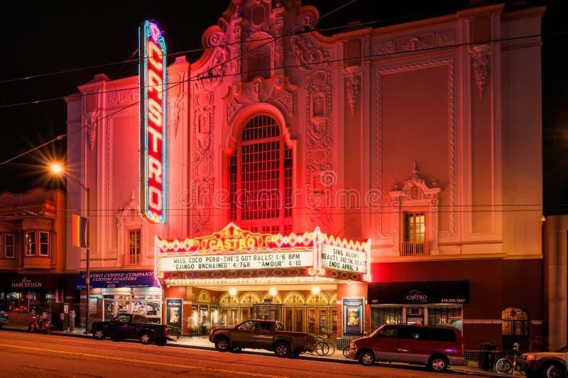 Castro Theater San Francisco foto de archivo libre de regalías