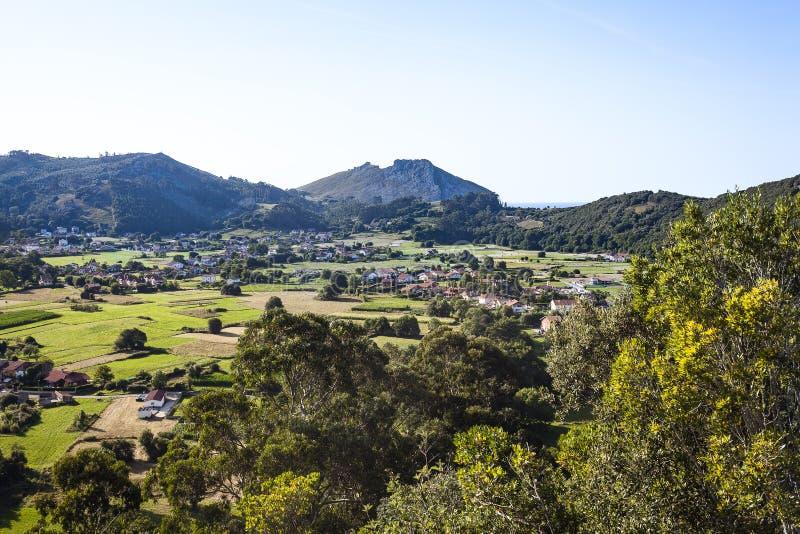 Castro Urdiales Area Landscapes foto de archivo libre de regalías