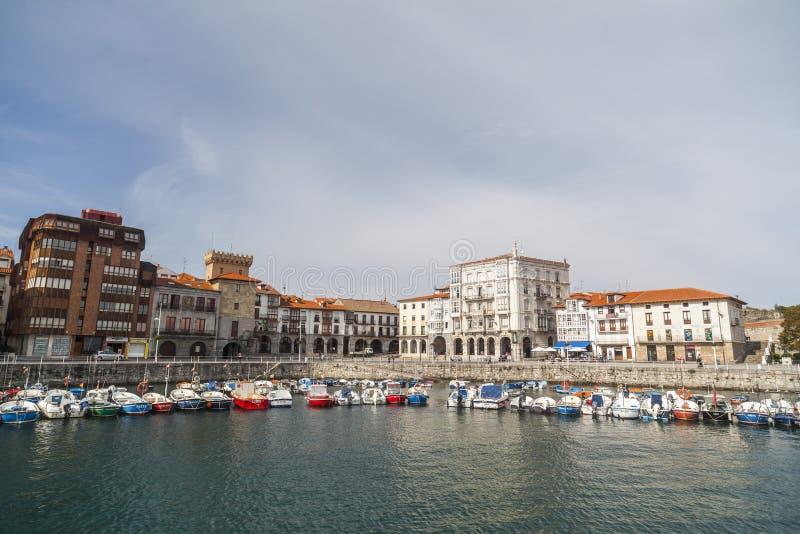 Castro Urdiales, Cantabria, España imágenes de archivo libres de regalías