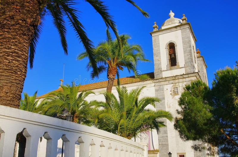 Castro Verde church. Castro Verde in Portugal, old church royalty free stock photography