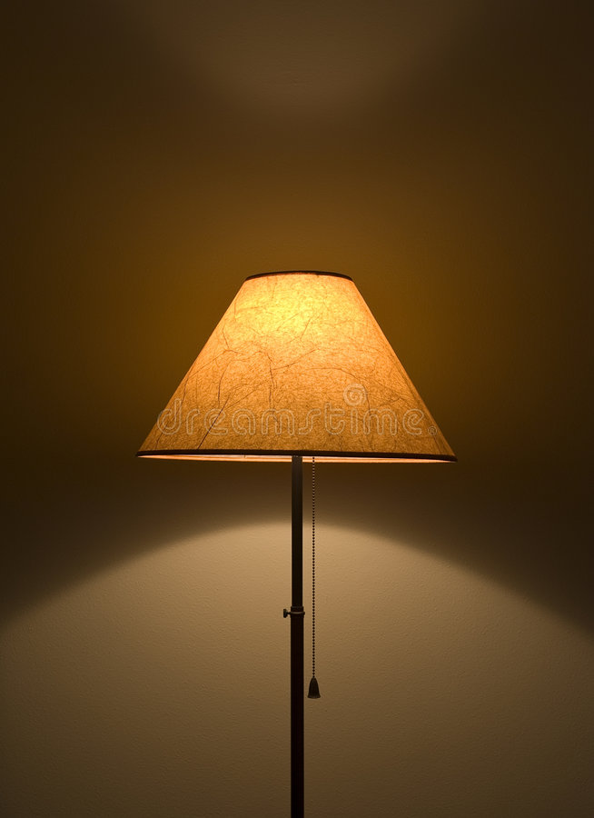 casts lampskugga royaltyfri fotografi