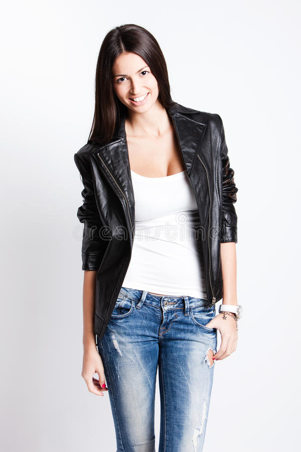 Download Casual stock image. Image of clothes, bright, young, leather - 23323185