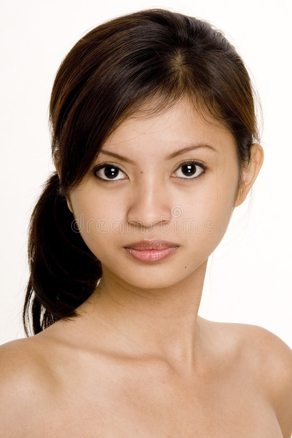 Download Casual 4 stock image. Image of eyes, brown, asian, female - 334951