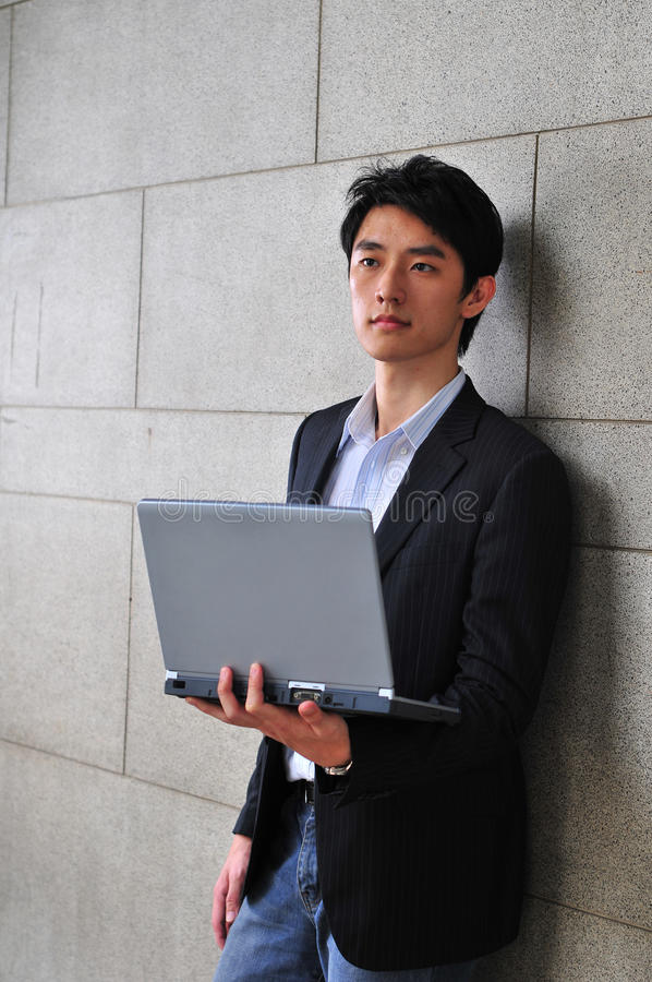 Casual Asian Man royalty free stock photography