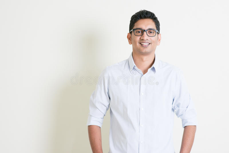 Casual business Indian boy portrait stock photo