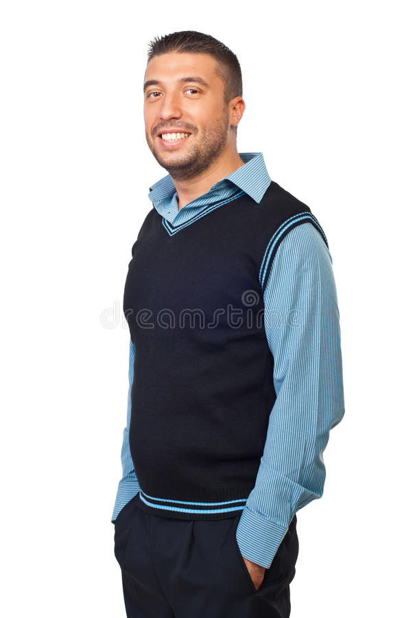 Casual business man royalty free stock images