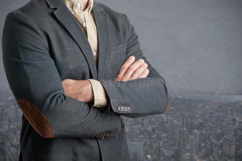 Casual Business Man stock image