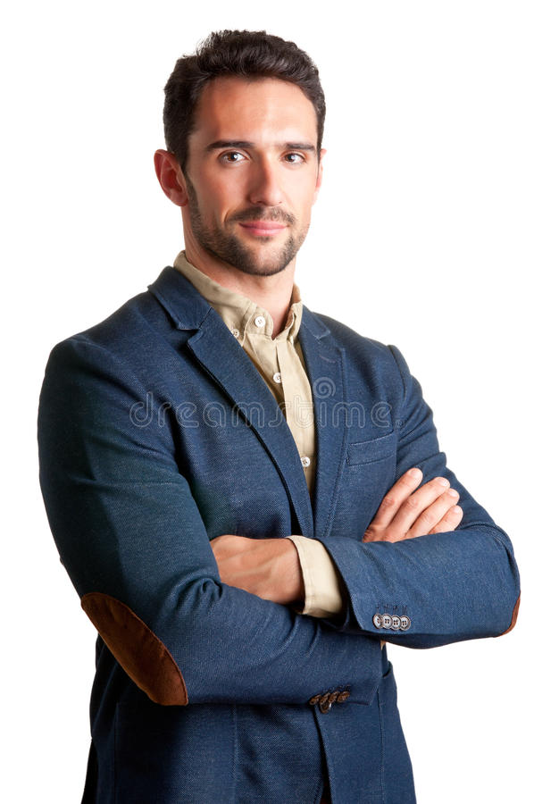 Casual Business Man royalty free stock image